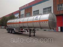 Minghang ZPS9401GRY flammable liquid aluminum tank trailer