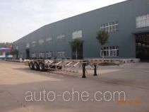 Minghang ZPS9401TJZ aluminium container trailer
