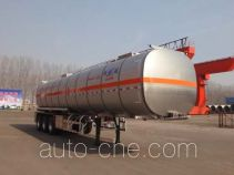 Minghang ZPS9402GRY flammable liquid aluminum tank trailer