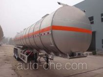 Minghang ZPS9404GRY flammable liquid aluminum tank trailer