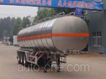Minghang ZPS9406GRY flammable liquid aluminum tank trailer