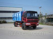 Zhongqi ZQZ5163ZLJ sealed garbage truck
