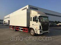 Zhongqi mobile stage van truck