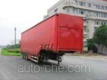 Zhongqi ZQZ9281XXYC curtainsider trailer