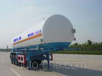 Zhongqi ZQZ9382GDY cryogenic liquid tank semi-trailer