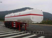 Zhongqi ZQZ9401GHY chemical liquid tank trailer
