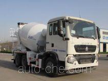 东岳牌ZTQ5250GJBZ7M32D型混凝土搅拌运输车