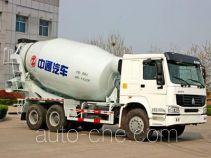 Dongyue ZTQ5250GJBZ7T40D concrete mixer truck