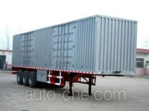 Dongyue ZTQ9391XXY box body van trailer