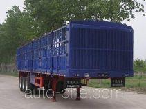 东岳牌ZTQ9402CCY型仓栅式运输半挂车