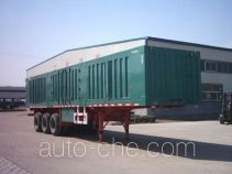 Dongyue ZTQ9402XXY box body van trailer