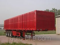 Dongyue ZTQ9403XXY box body van trailer