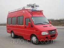 中卓时代牌ZXF5040XXFTZ1600型通讯指挥消防车