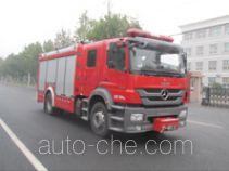 Zhongzhuo Shidai ZXF5150GXFPM40 foam fire engine