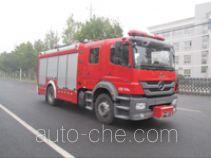 Zhongzhuo Shidai ZXF5150GXFSG40 fire tank truck