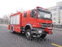 Zhongzhuo Shidai ZXF5150TXFJY100 пожарный аварийно-спасательный автомобиль