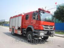 Zhongzhuo Shidai ZXF5150XXFQC200 apparatus fire fighting vehicle