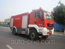 Zhongzhuo Shidai ZXF5180GXFJX60 airport fire engine