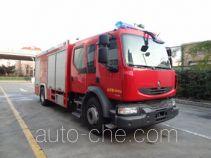 中卓时代牌ZXF5190GXFAP80型A类泡沫消防车