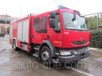 Zhongzhuo Shidai ZXF5190GXFPM80/L foam fire engine