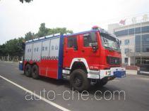 Zhongzhuo Shidai ZXF5190TXFJY200 пожарный аварийно-спасательный автомобиль