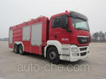 Zhongzhuo Shidai ZXF5290TXFGP120 dry powder and foam combined fire engine