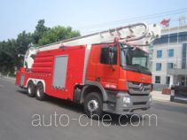 Zhongzhuo Shidai ZXF5310JXFJP32 high lift pump fire engine