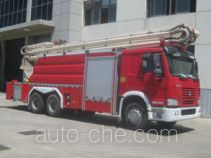 Zhongzhuo Shidai ZXF5320JXFJP26 high lift pump fire engine