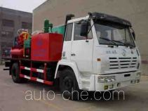 Foam cementing truck