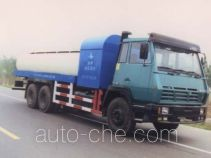 Oil pressure test pump truck