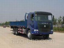 豪运牌ZZ1255M4345C型载货汽车
