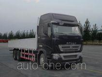 汕德卡牌ZZ1257V584HC1型载货汽车