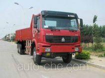 豪泺牌ZZ2257M4357C1型越野载货汽车