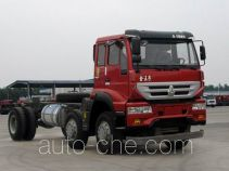 Sida Steyr ZZ3251M48C1D1 dump truck chassis