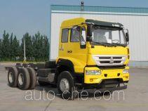 Sida Steyr ZZ3251N364GD1 dump truck chassis