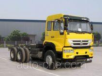 Sida Steyr ZZ3251N384GD1 dump truck chassis