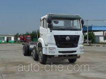 Sinotruk Hohan ZZ3255M35C3E1L dump truck chassis