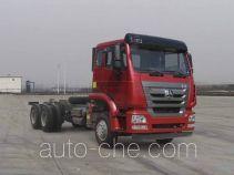Sinotruk Hohan ZZ3255N4043E1 dump truck chassis