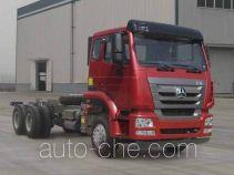 Sinotruk Hohan ZZ3255N4046E1 dump truck chassis