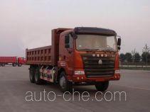 豪运牌ZZ3255N4345C2L型自卸汽车