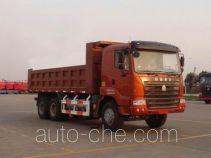 豪运牌ZZ3255N4645C2L型自卸汽车