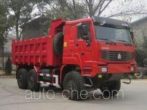 豪泺牌ZZ3257N3657C1D型越野自卸汽车
