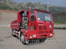 威泺牌ZZ3259N384PC3型自卸汽车