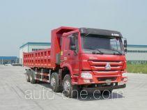 Methanol/diesel dual fuel dump truck