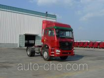 豪瀚牌ZZ4185M3516C1Z型集装箱半挂牵引车