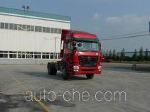 豪瀚牌ZZ4185N3516C1Z型集装箱半挂牵引车