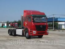 Sinotruk Hohan ZZ4255N3846D1CZ container carrier vehicle
