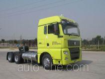 Sinotruk Sitrak ZZ4256V384HE1LW седельный тягач для перевозки опасных грузов