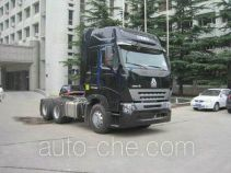 Sinotruk Howo ZZ4257M3247P1Z container transport tractor unit