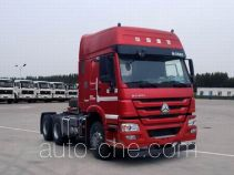 Methanol/diesel dual fuel tractor unit
